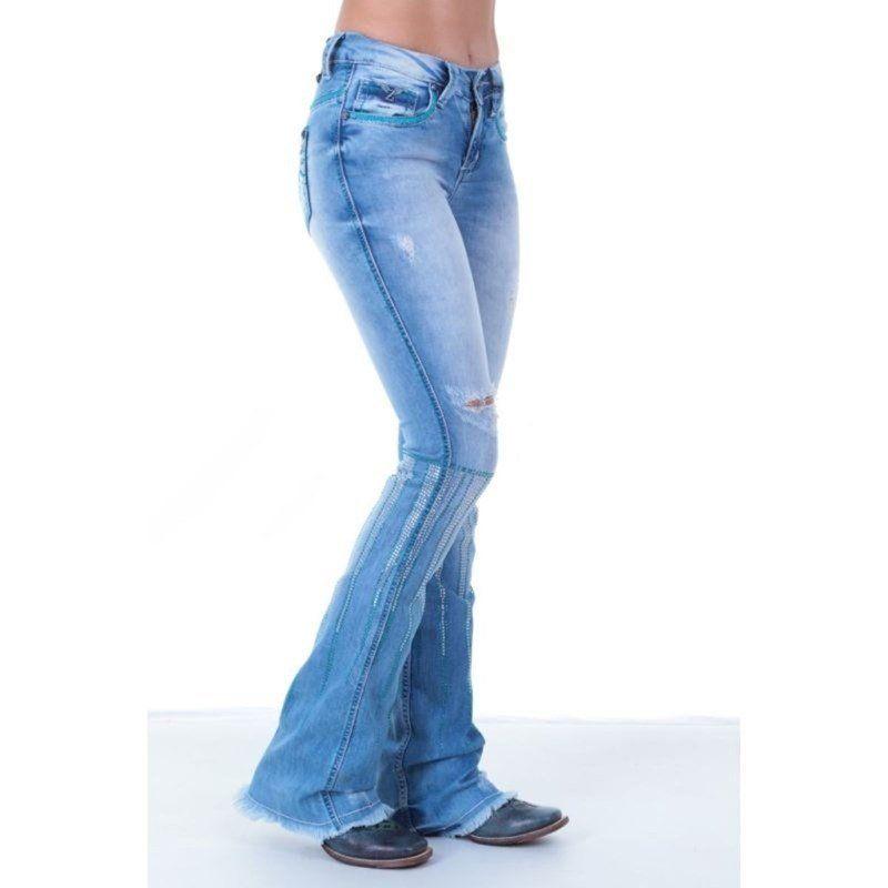 Calça Jeans Feminina The Doors Zenz Western - Arena Country Echaporã ce699868f51
