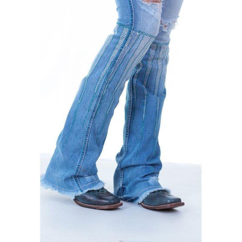 Calça Jeans Feminina The Doors Zenz Western - Arena Country Echaporã 5db2441b656