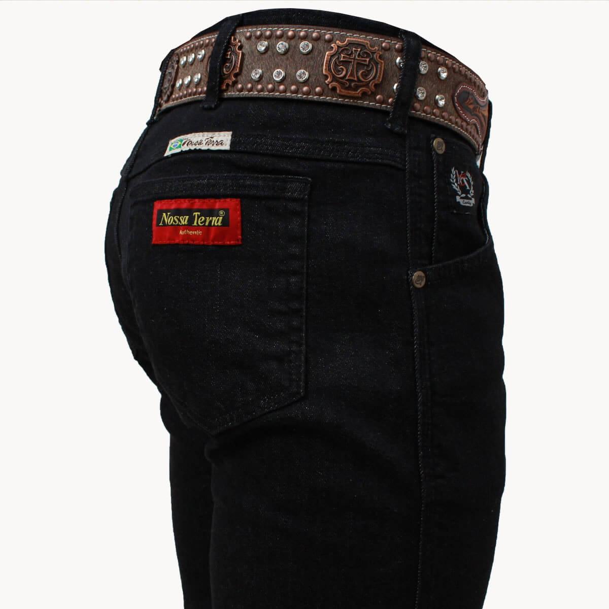Calça Jeans Masculina Nossa Terra Preta - Arena Country Echaporã 73e1bea2f62