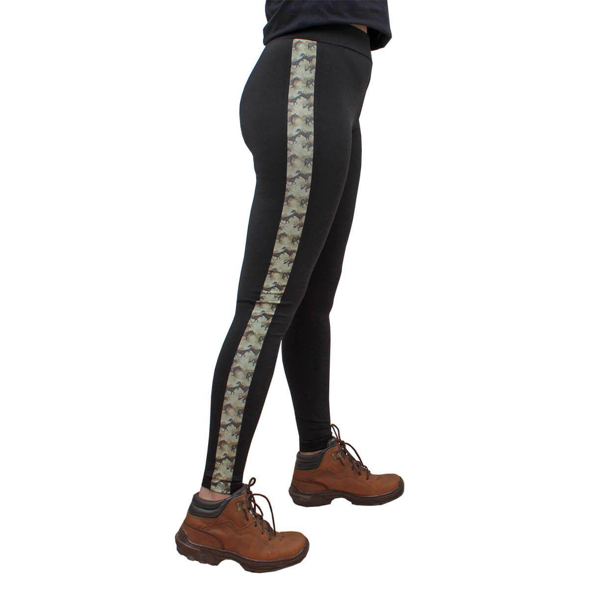 Calça Legging 8 Segundos Estampada