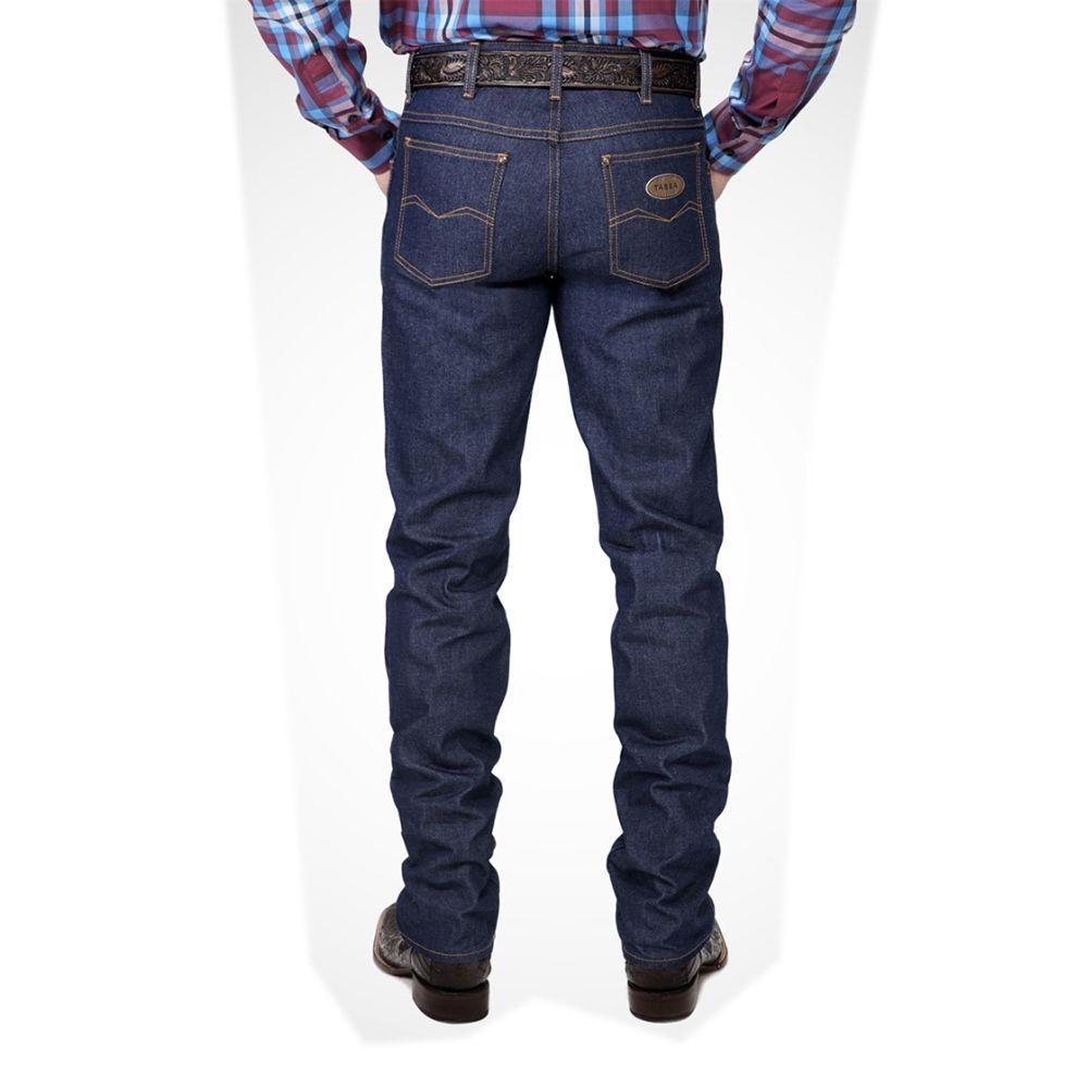 Calça Tassa Masculina Cowboy Cut Engomada Azul