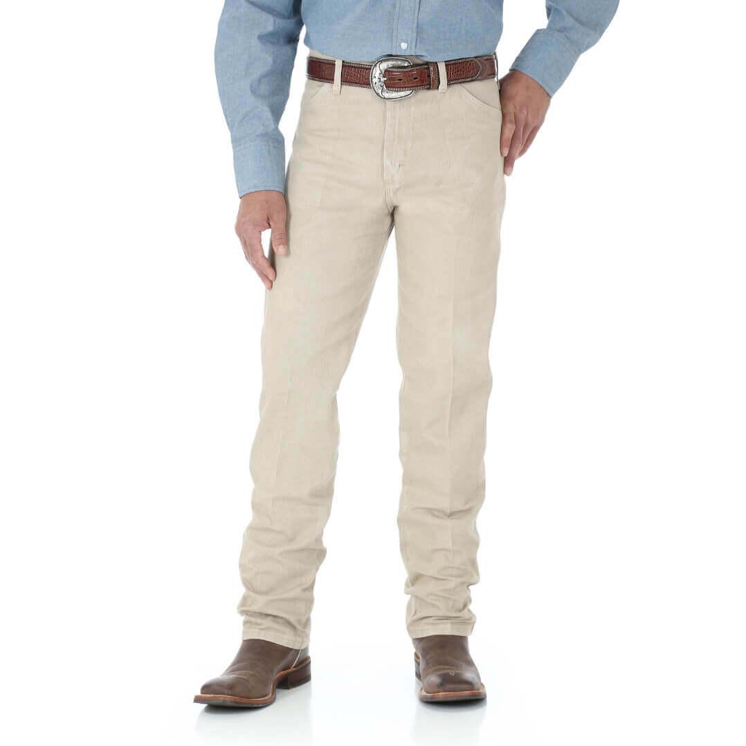 Calça Masculina Wrangler Brim Cowboy Cut