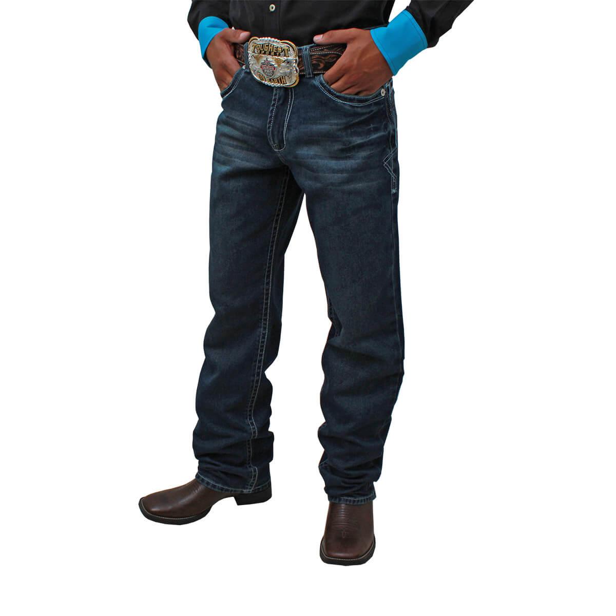Calça Os Vaqueiros Masculina Pontão Texas