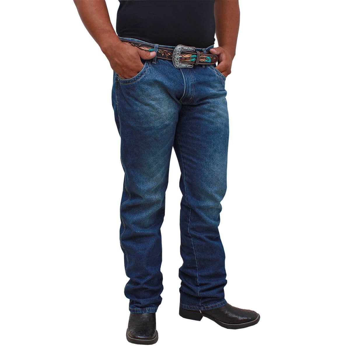Calça Wrangler Nacional 20X Stone Elaxed Fashion