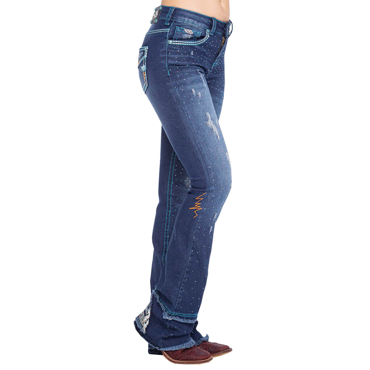 Calça Zenz Western Jeans Dark Blue