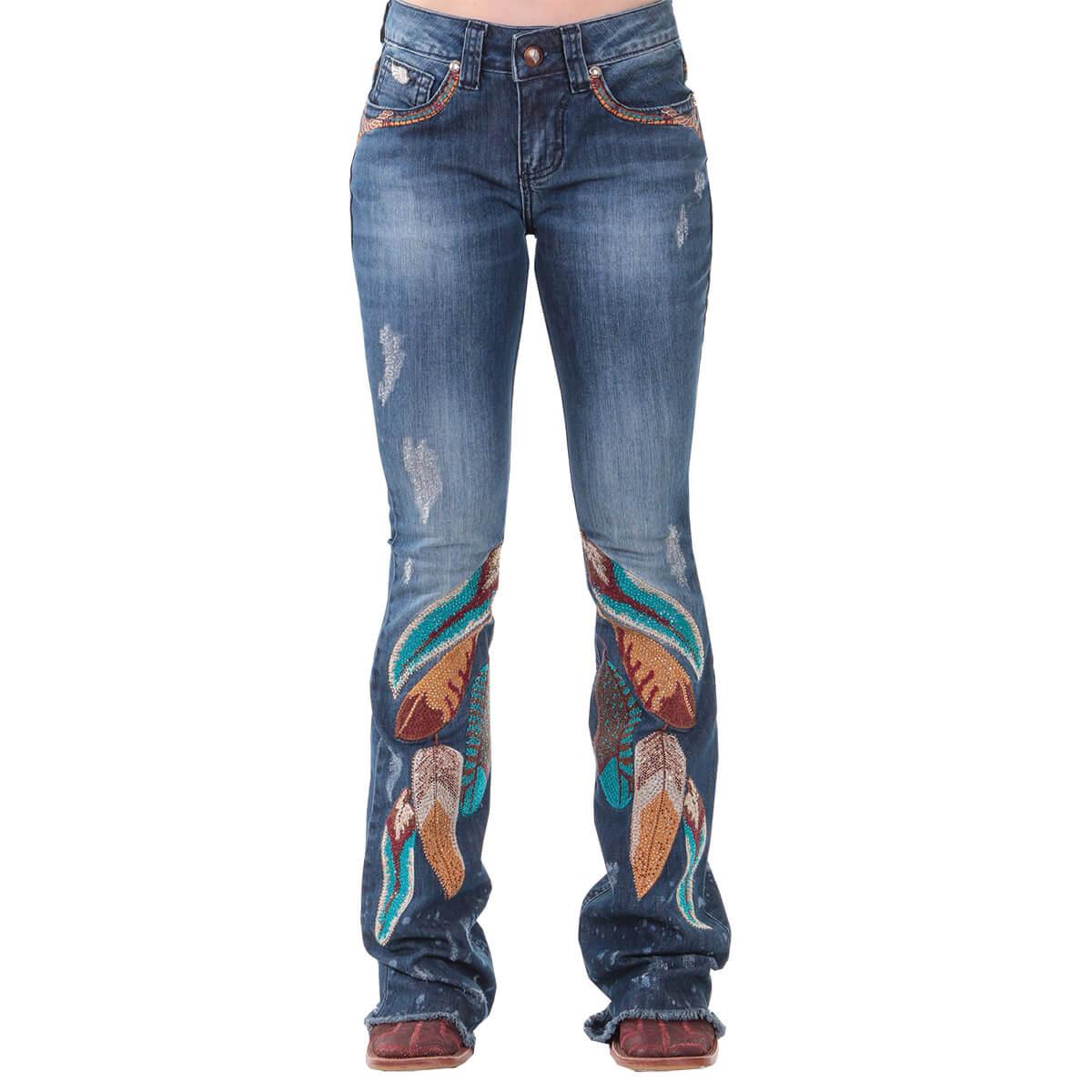 Calça Zenz Western Jeans Folk