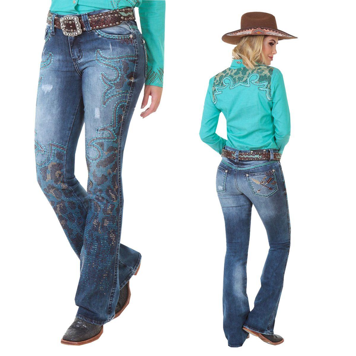 Calça Zenz Western Jeans Guepardo