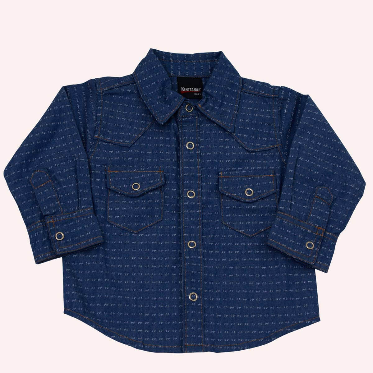 Camisa Kenttana Baby Azul Marinho