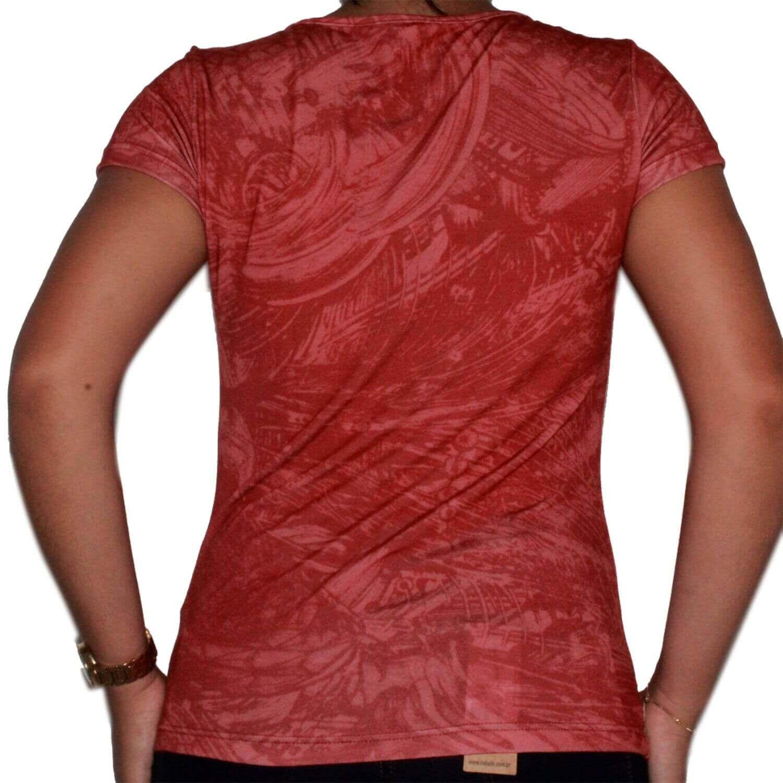 Camiseta Feminina Vermelho Ride Horse