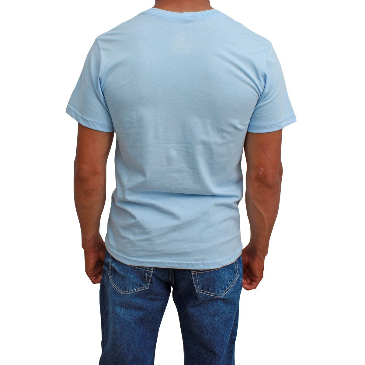 Camiseta Indian Farm Básica Azul