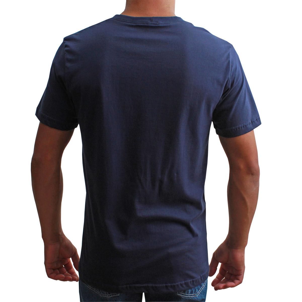 Camiseta Indian Farm Masculina Azul Marinho Trade Mark