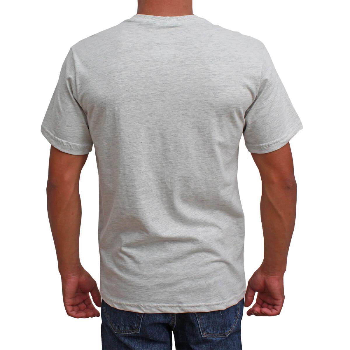 Camiseta Indian Farm Masculina Cinza California