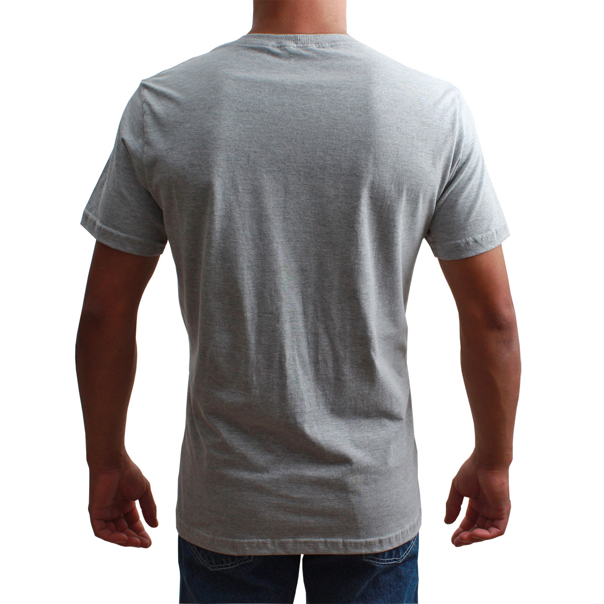 Camiseta Indian Farm Masculina Cinza Team Roping