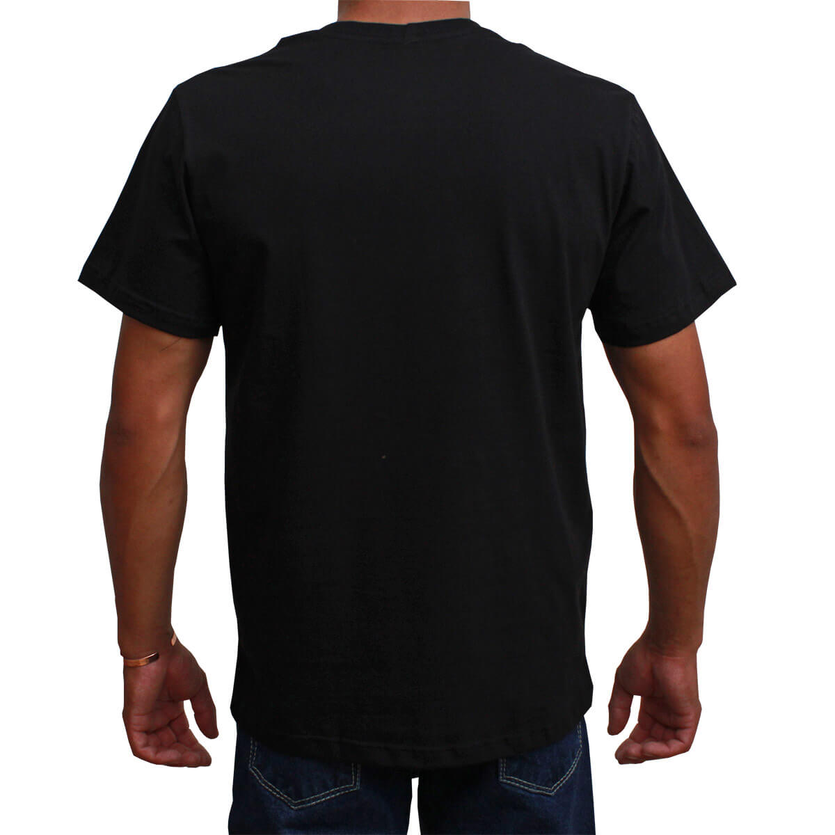 Camiseta Indian Farm Masculina Preta Rodeo