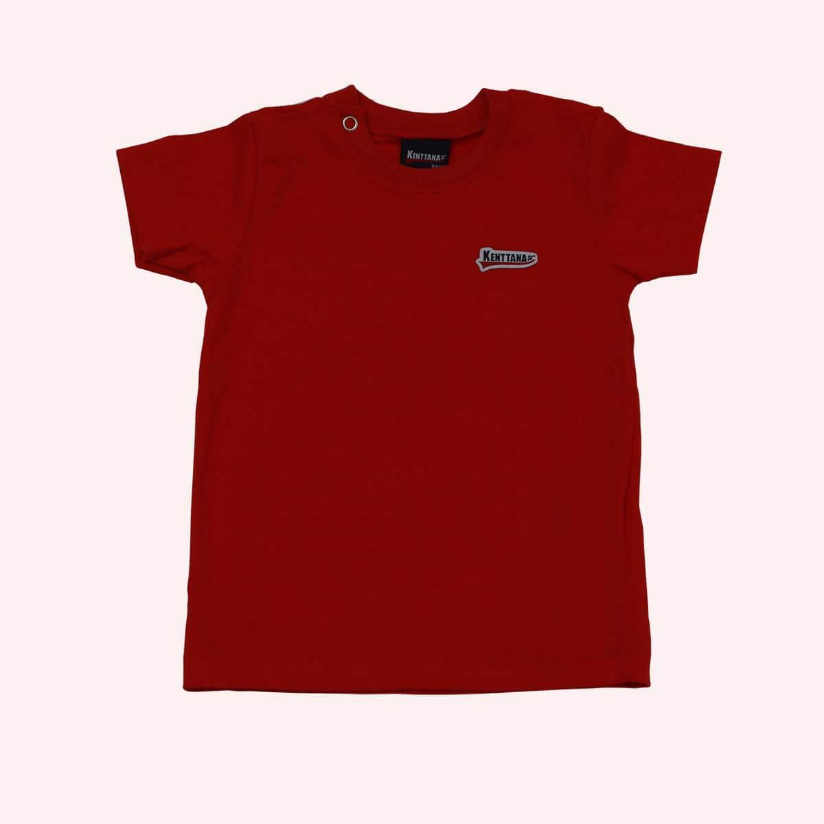 Camiseta Kenttana Vermelha Baby