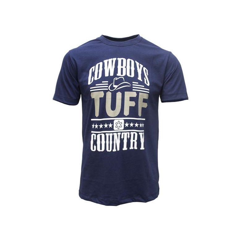 Camiseta Tuff Masculina Azul Marinho Cowboy
