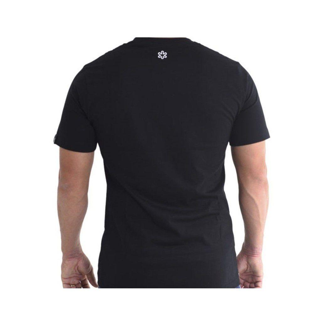 Camiseta Tuff Masculina Preta Stripe Grade Black