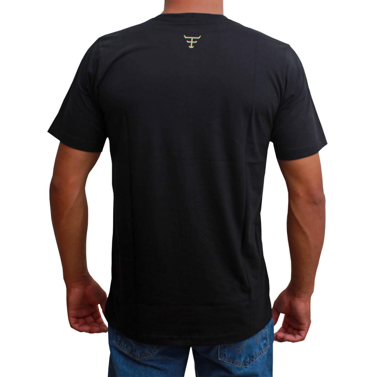 Camiseta Masculina Texas Farm Preta TXF