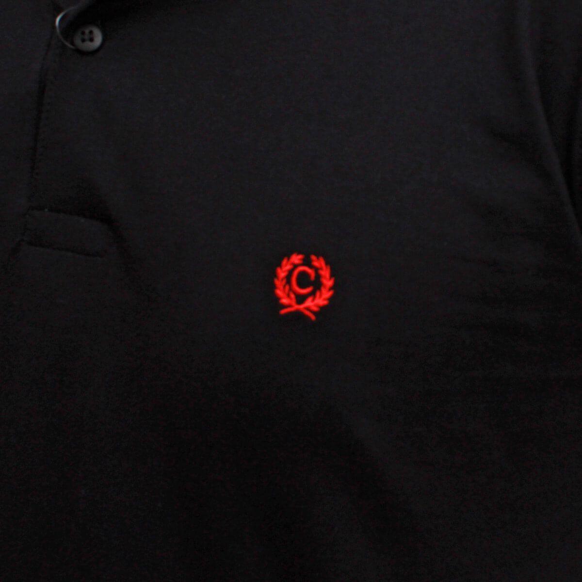 Camiseta Polo Classic Básica Preta