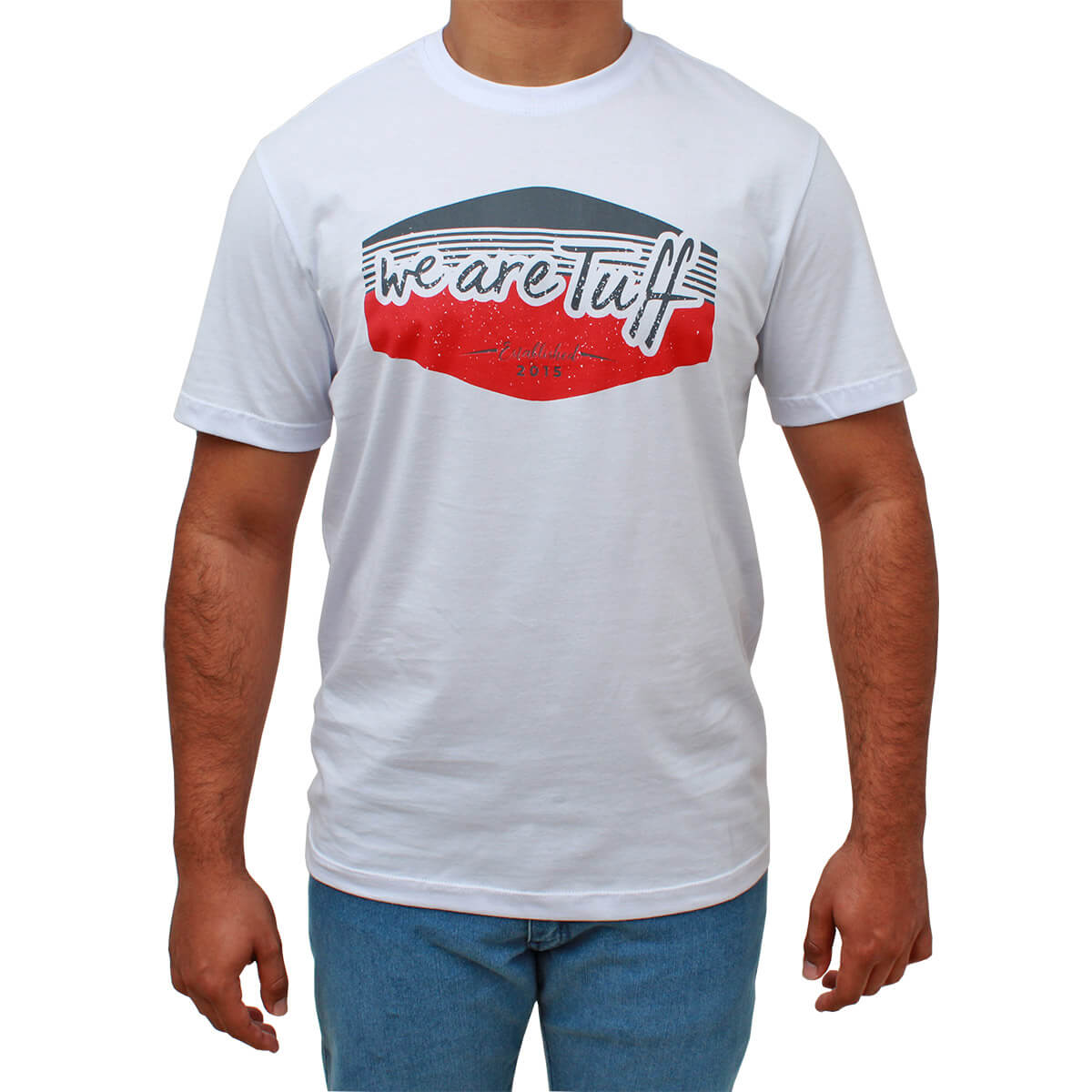 Camiseta Tuff Masculina Branca We Are