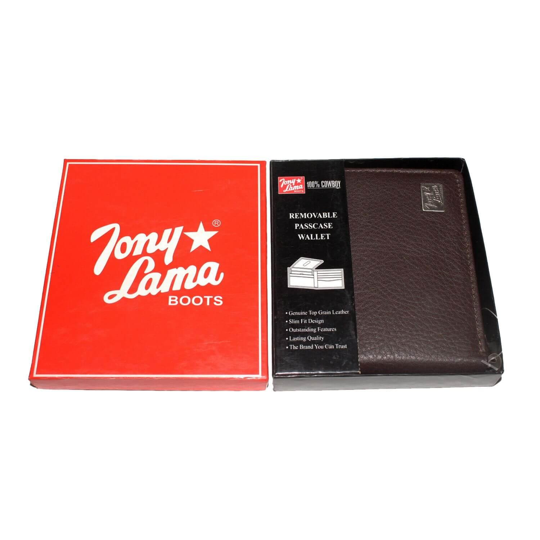 Carteira Masculina Café Importada Tony Lama