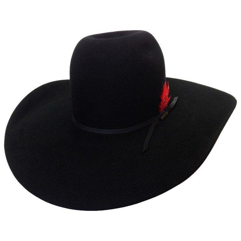 Chapéu Resistol 7X Chute Black Importado