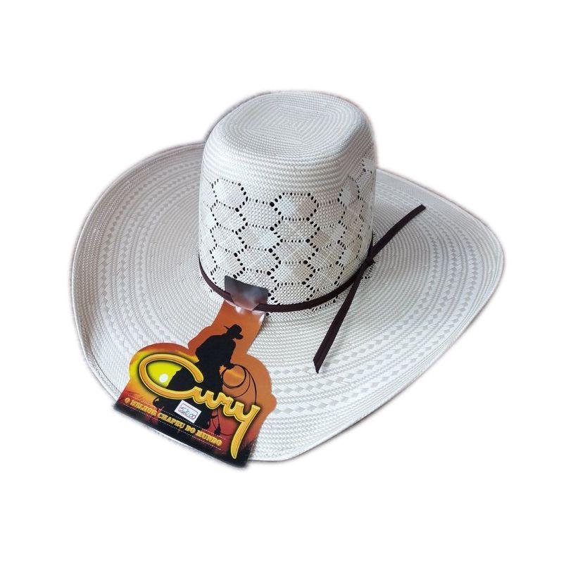 Chapéu Arizona Palha 20x Aba 11,5 Cury