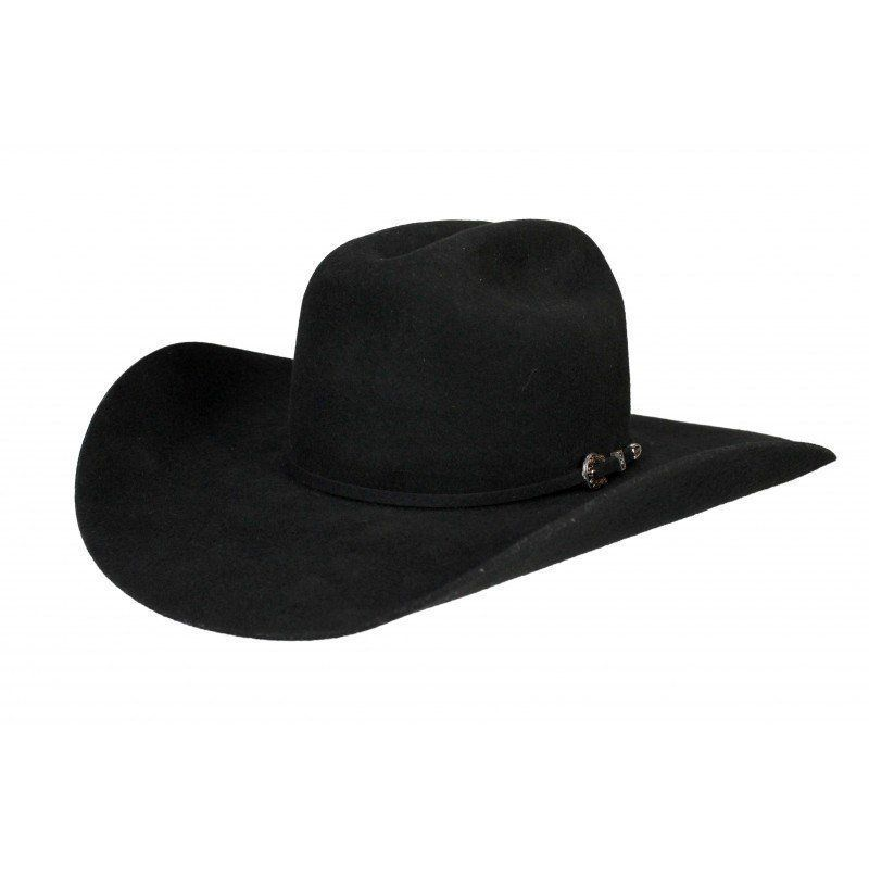 Chapéu Authentic Feltro Preto Stetson