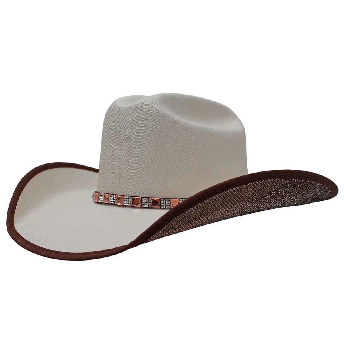 Chapéu Dallas Arizona Feminino Tradicional Branco