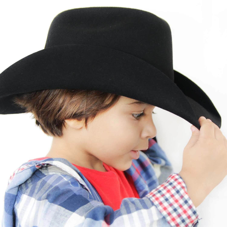 Chapéu Infantil Feltro Arizona Preto Pralana - Arena Country Echaporã 424bebc9925