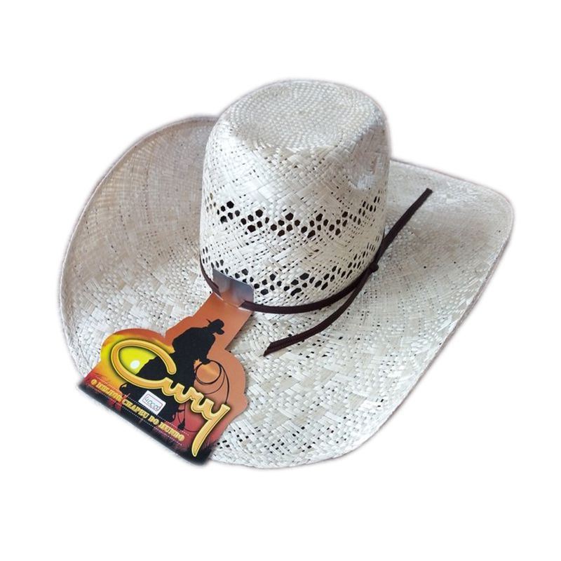 Chapéu Texas Palha 20X Aba 11,5 Cury