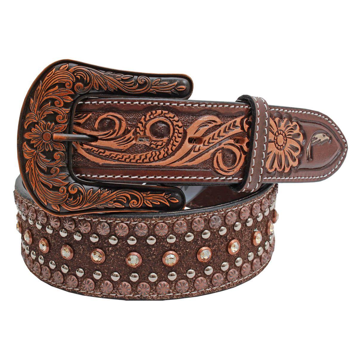 Cinto Arizona Belts Masculino Strass