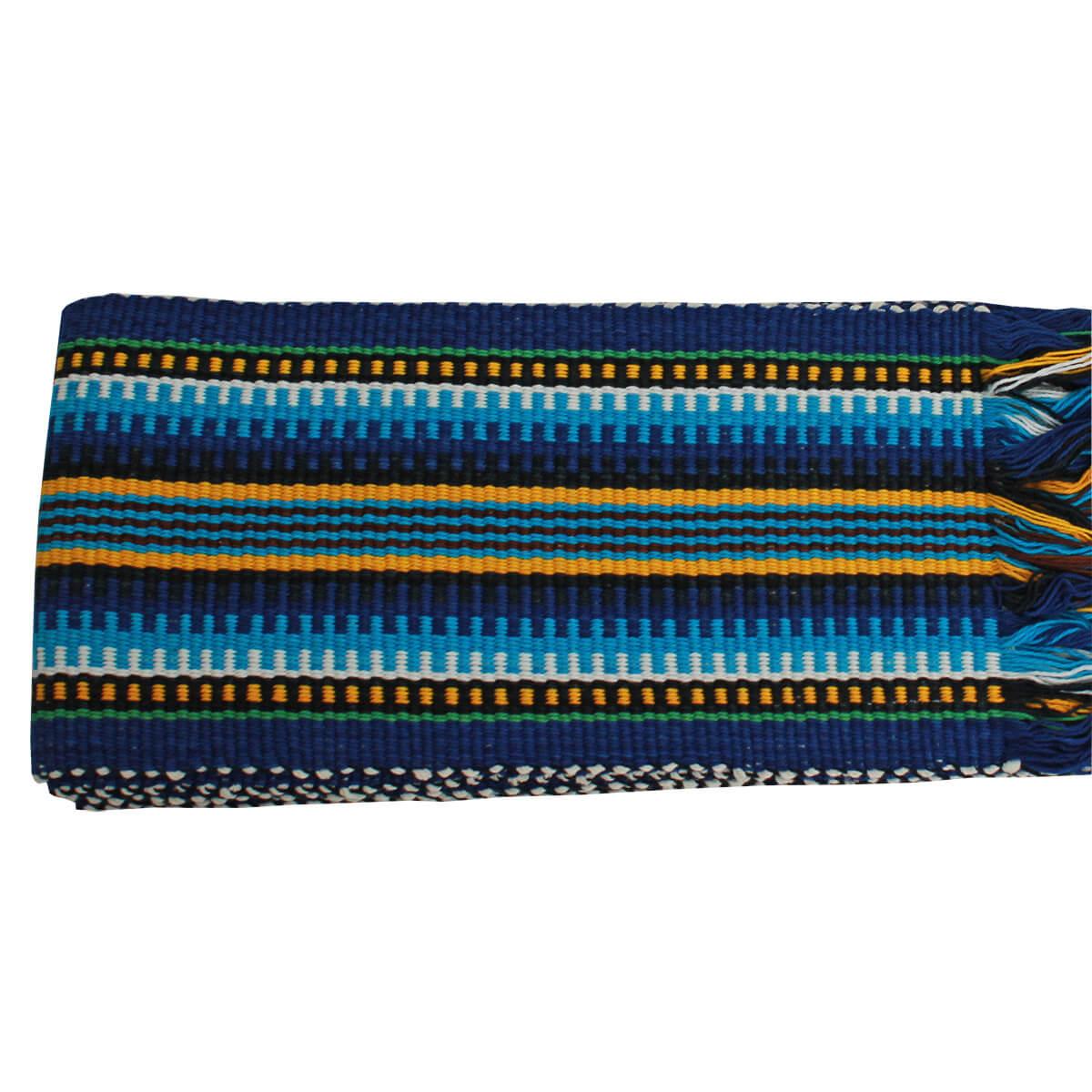 Faixa Paraguaia Boiadeira Amarela Com Azul
