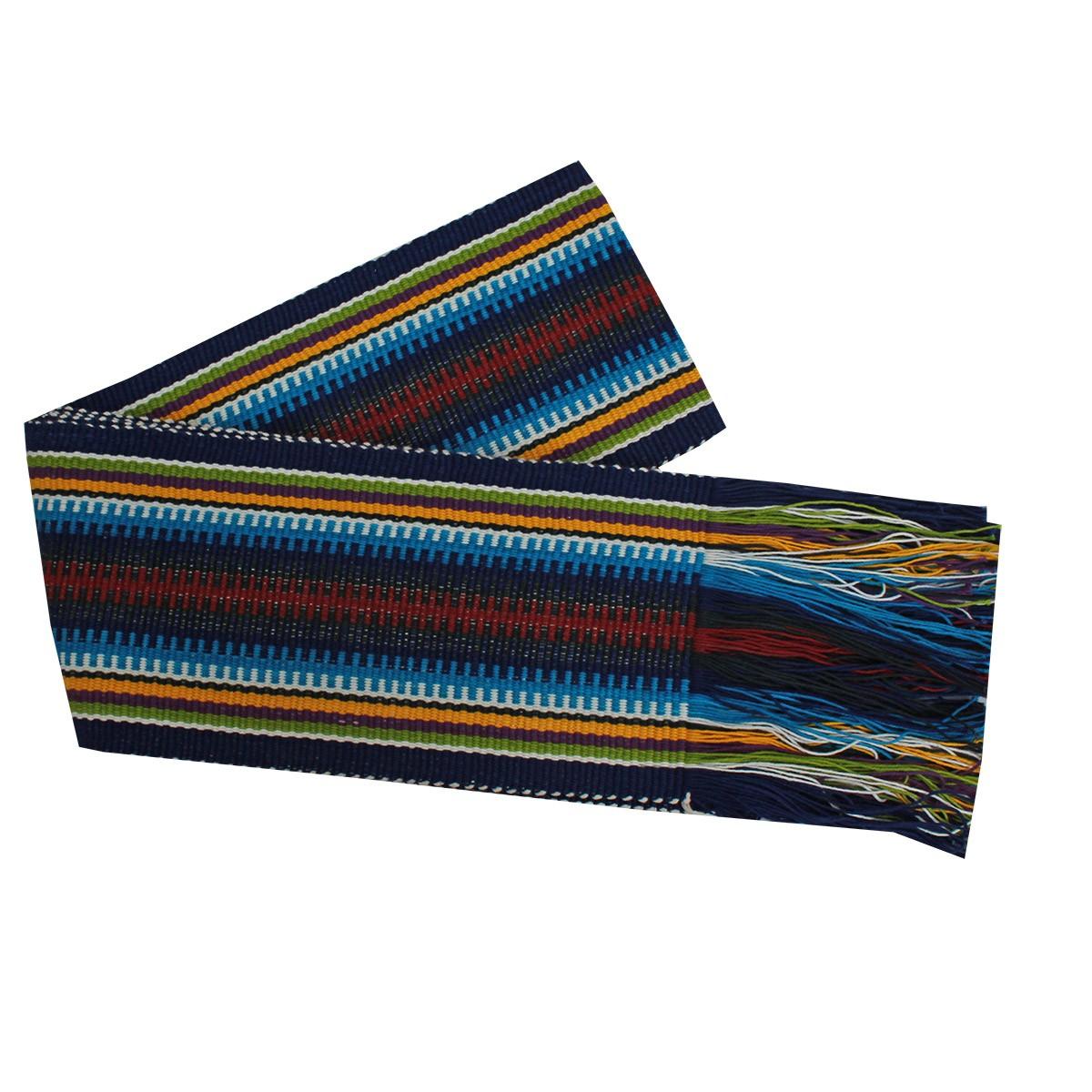 Faixa Paraguaia Boiadeira Colorida Azul