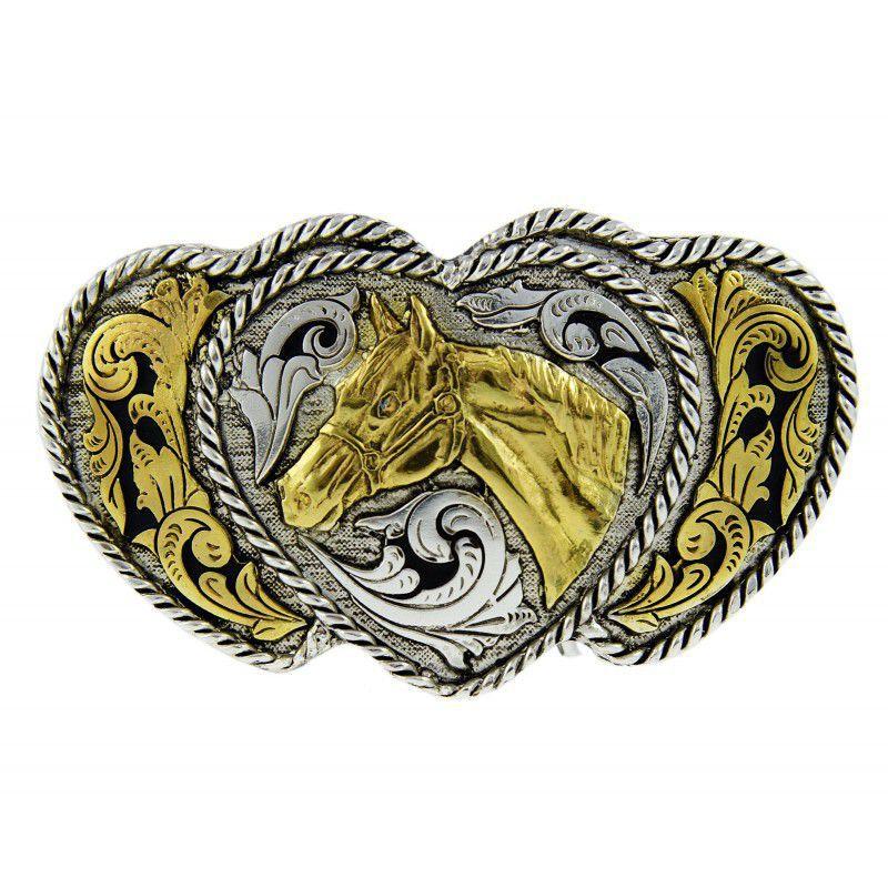Fivela Feminina Cavalo Coração Master 611
