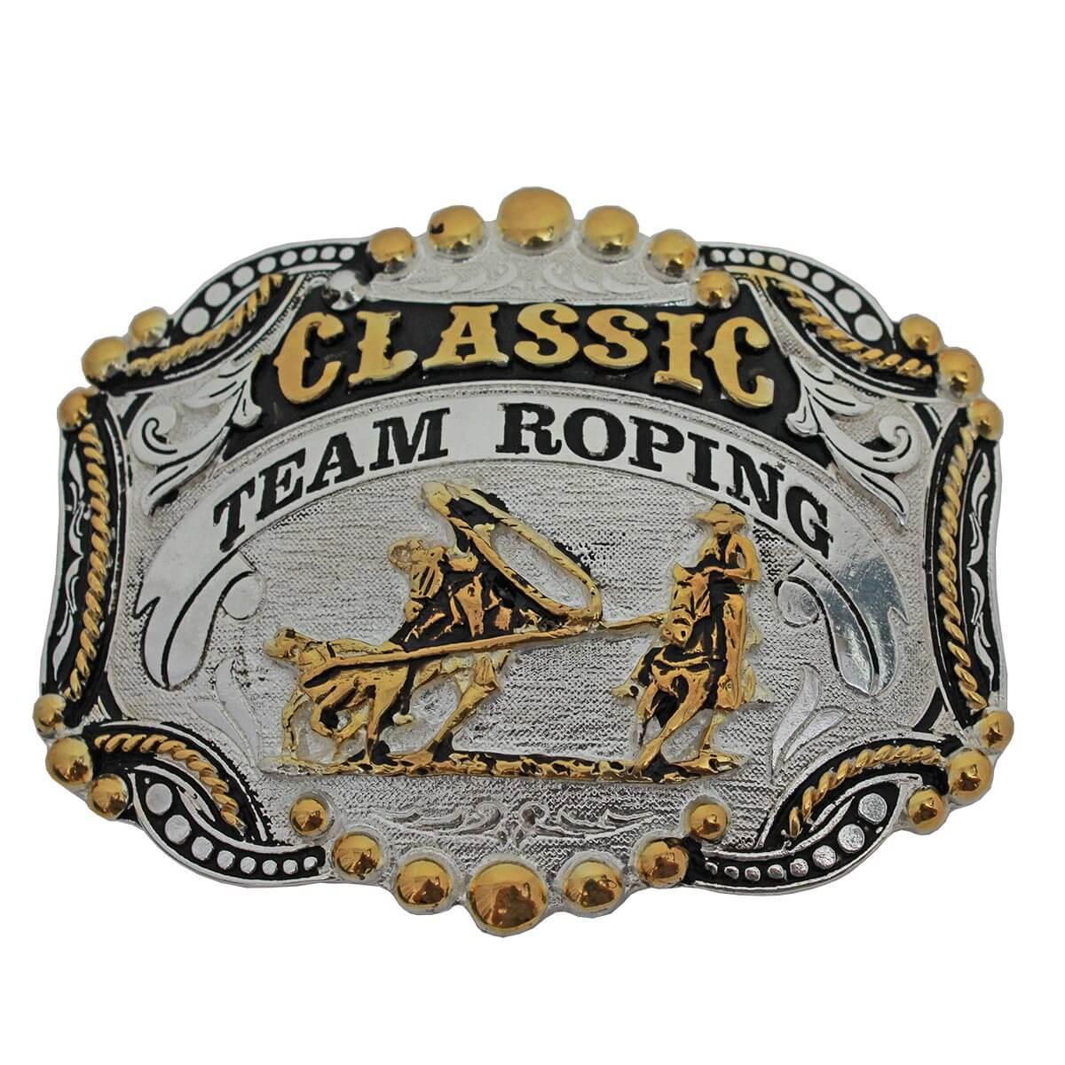 Fivela Master Western Classic Team Roping Prata