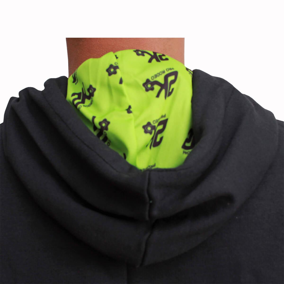 Moletom 2K Jeans Masculino Preto Logo Verde