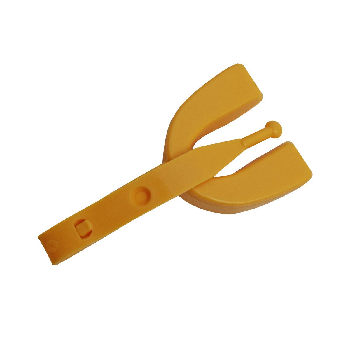 Protetor Bucal Simples Montaria Wilson Importado Amarelo