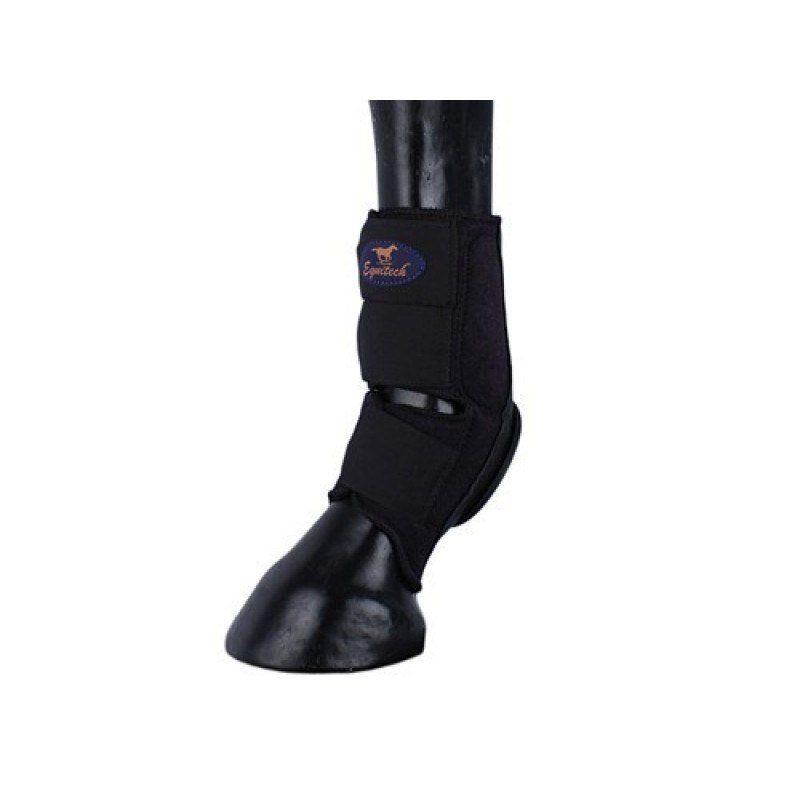 Skid Boot Equitech Traseiro Preto