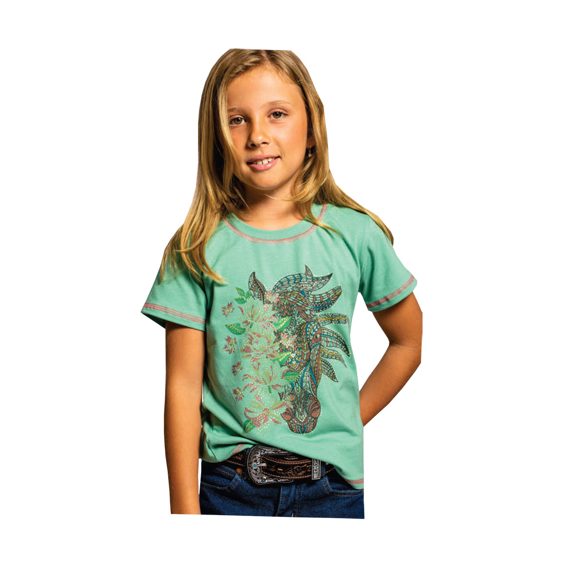T-Shirt Infantil Miss Country Alquimia