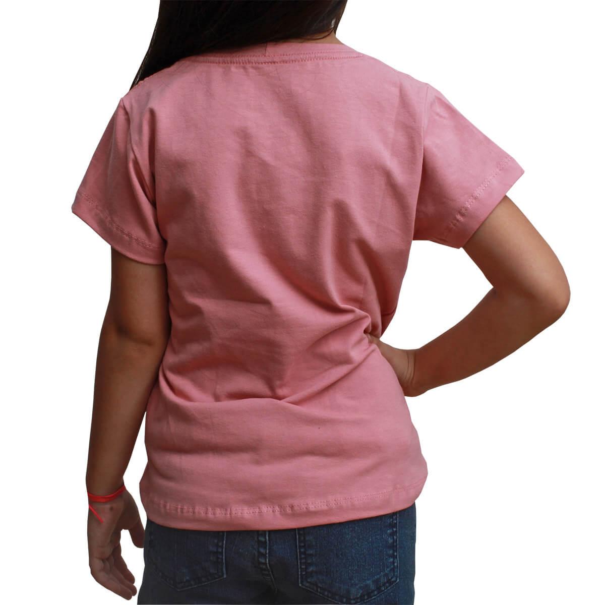 T-Shirt Infantil Texas Farm Rosa TXF