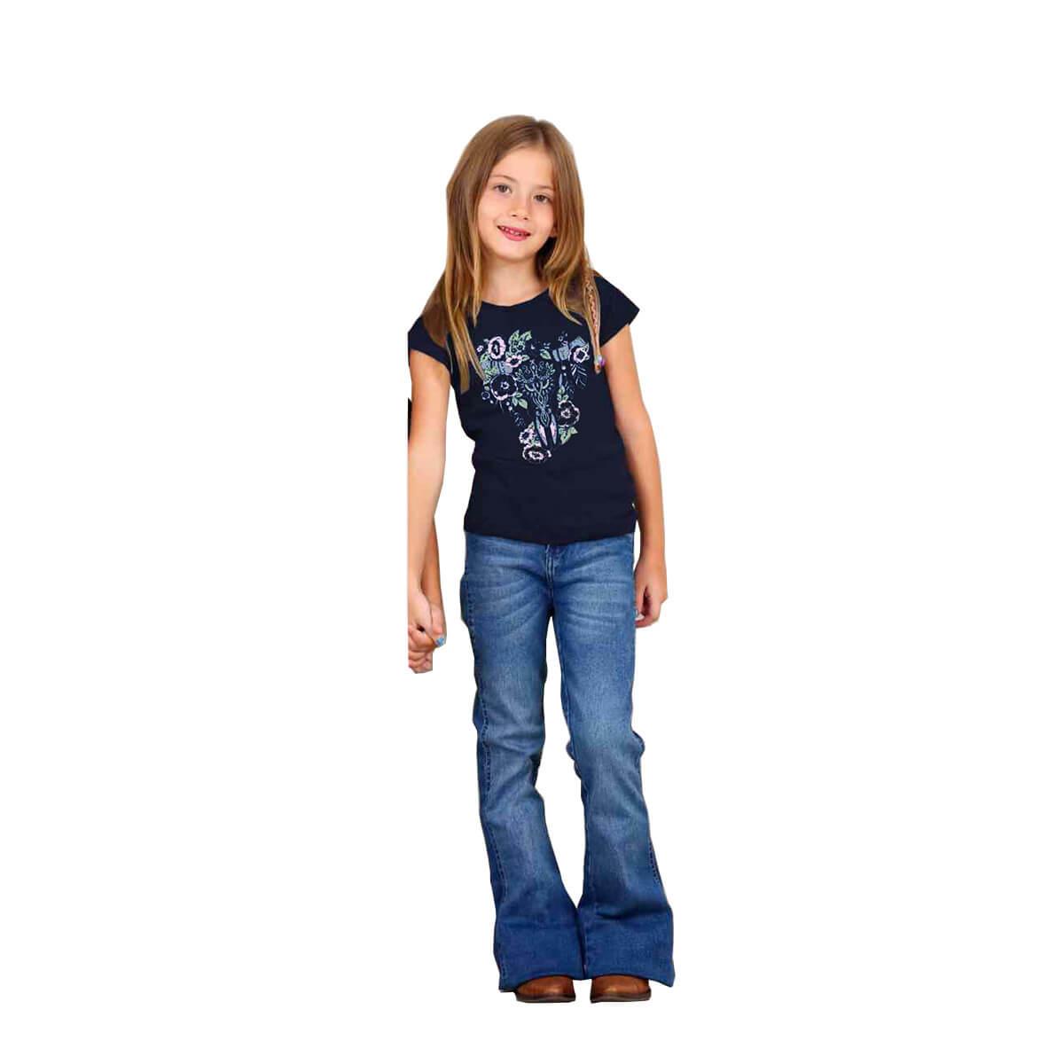 T-Shirt Os Vaqueiros Infantil Azul