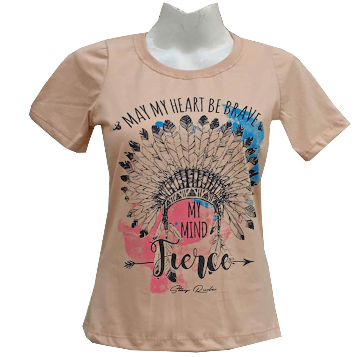 T-Shirt Stayrude Feminina Cocar