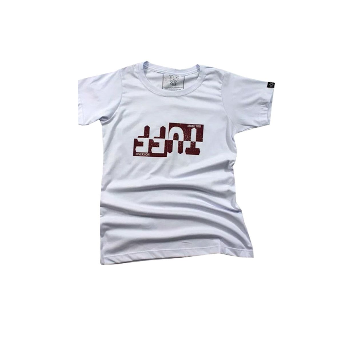 T-Shirt Tuff Branca Make You