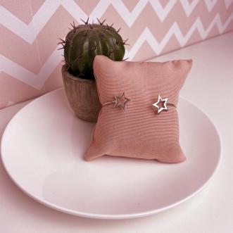 Bracelete Estrelas vazadas Prata 925