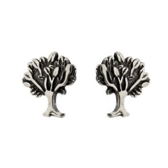 Brinco Árvore em Prata 925 em Prata 925