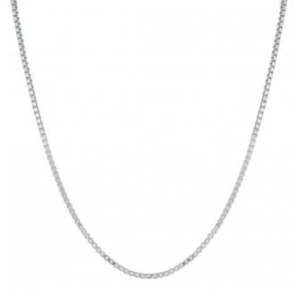 Corrente 45 cm Prata 925 Veneziana
