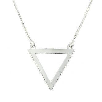 Gargantilha Triângulo em Prata 925