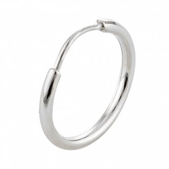 Piercing Argolinha Cartilagem Prata 925