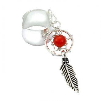 Piercing Orelha Filtro dos Sonhos Prata 925